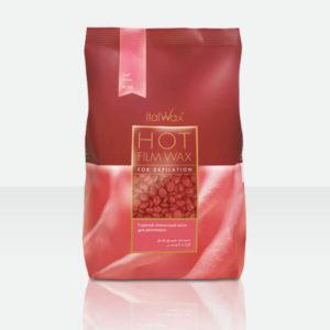 ItalWax Пленочный воск для депиляции Роза в гранулах (1кг)