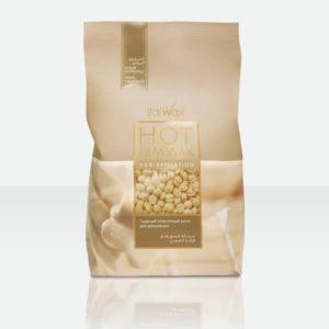 ItalWax Пленочный воск для депиляции Белый шоколад в гранулах (1кг)