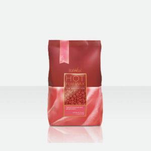 ItalWax Пленочный воск для депиляции Роза в гранулах (500гр)