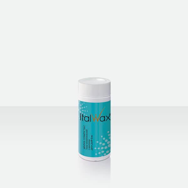 Косметический тальк для депиляции воском / шугарингом с ментолом Italwax 50 гр
