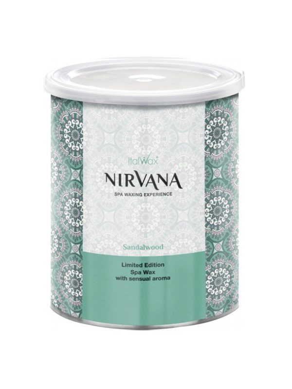 ItalWax Сандал Nirvana Нирвана теплый воск для депиляции в банке 800 мл