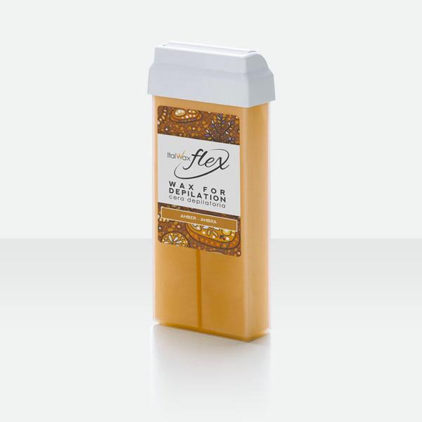 Italwax Воск в кассете Flex Янтарь 100 мл