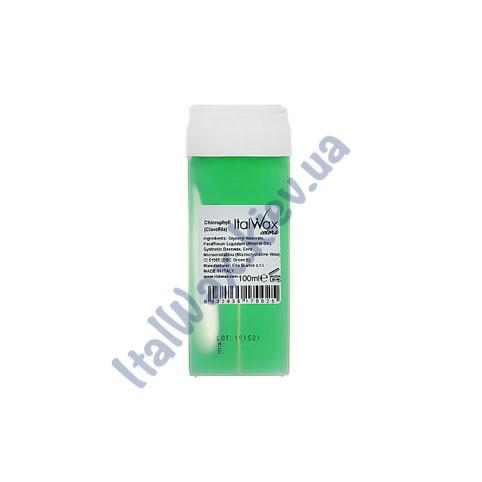 Воск в кассете Italwax Хлорофил 100 мл
