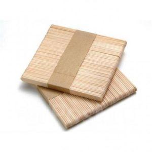 Шпатель деревянные для восковой депиляции 50 шт УЗКИЕ