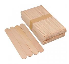 Шпатель деревянные для восковой депиляции 100 шт ШИРОКИЕ