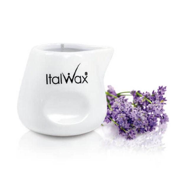 Italwax Массажная арома-свеча Нирвана Лаванда (50 грамм)